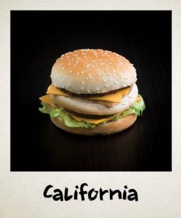 California burger buns Ethnic Food