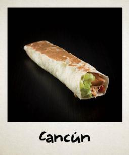 Cancun sandwich wrap Ethnic Food