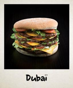 Le burger Dubaï chez Ethnic Food