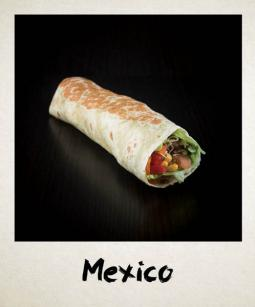Le Mexico un Wrap à base de steak haché Ethnic Food