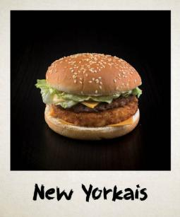 New Yorkais burger buns Ethnic Food